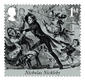 Royal-Mail-Stamps-Charles-Dickens-Nickolas-Nickleby