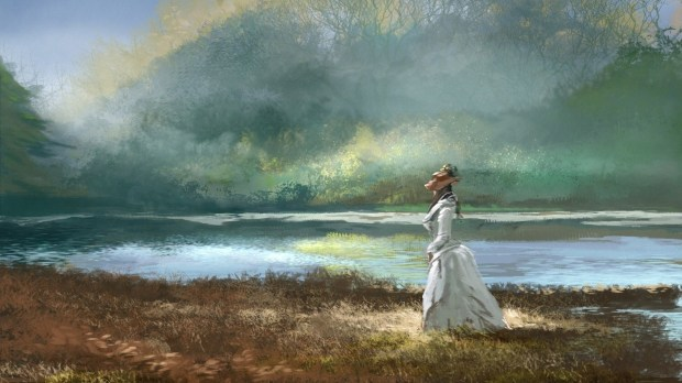 girl-lake-nature-painting-wallpaper-1920x1080